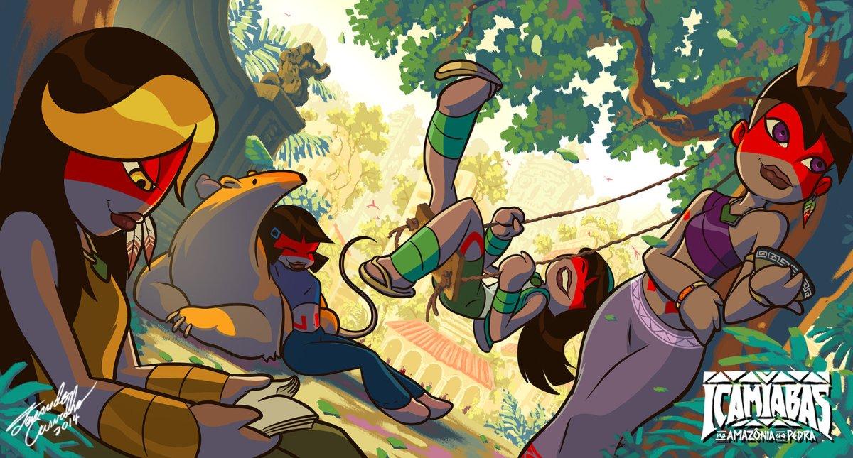 Icamiabas atacam em animação feita no Pará