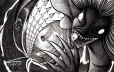 Ipupiara é uma criatura do norte, meio homem e meio peixe, que desde o Brasil Colonial assombra e mata o povo apertando em seu abraço.