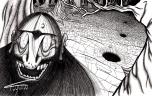 O Pé de Garrafa é uma criatura que vive nas matas do Norte e do Centro-Oeste. Dizem que é um humanoide peludo, com uma perna só que termina em forma de casco de garrafa redonda. Seu único ponto fraco é o umbigo.