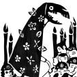 A MORTE. A carta que usualmente têm a simbologia de grandes mudanças, criação e destruição, é aqui representada no elemento Jaraguá – Figura fantástica, integrante do folguedo do mesmo nome e, costuma desfilar no Carnaval de rua, junto com boizinhos, bonecos e outras figuras. Como a do Maneiro-Pau também, do mineiro-pau, encontrados nas zonas rurais de Alagoas, Campos e São João da Barra, estado do Rio de Janeiro e, também, em áreas do litoral do Espírito Santo e sul da Bahia. O Jaraguá é uma das principais manifestações folclóricas da cidade de Anchieta, localizada no litoral sul do Espírito Santo.