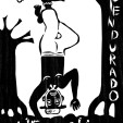 O PENDURADO. A abnegação, aceitação do destino, sacrifício aparecem na imagem de um Pescador de Caranguejos (O caranguejo além de ser um dos componentes mais característicos do ecossistema manguezal no Brasil, assume uma notável importância socioeconômica ao longo do litoral nordestino).