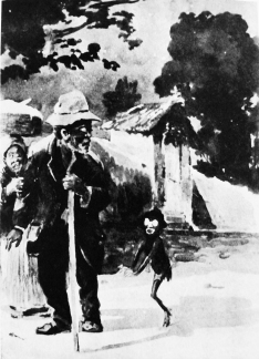 Alfredo Norfini – Saci assustando o preto