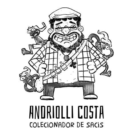 Andriolli Costa - Colecionador de Sacis