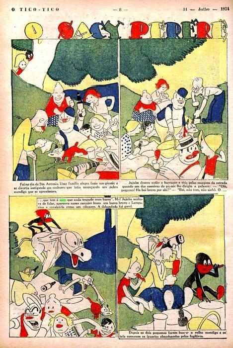 saci hq tico tico 11-07-1934
