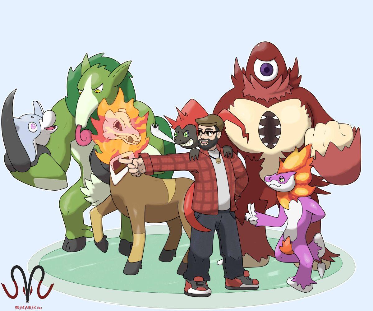 Versão brasileira - Conheça os Pokémons inspirados no folclore nacional