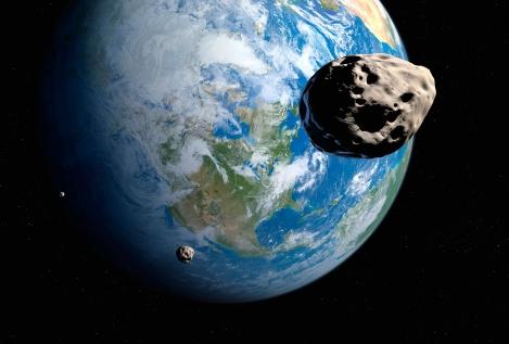Near-Earth asteroids, artwork