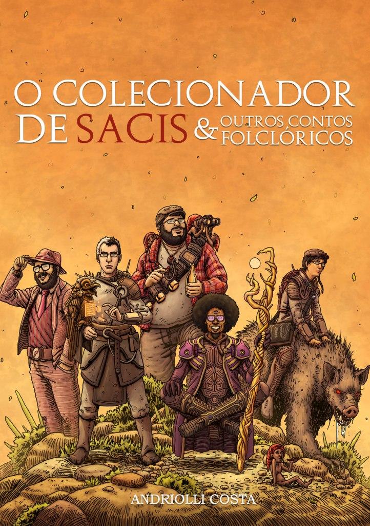 Capa do livro O Colecionador de Sacis e outros contos folclóricos